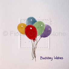 Birthday Wishes - Balloons